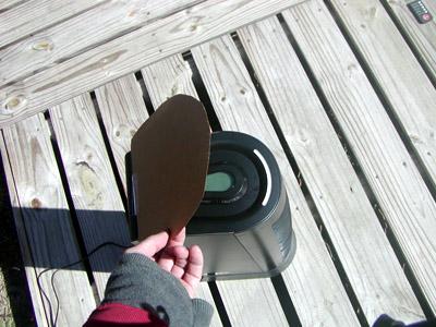 hoover cardboard lid