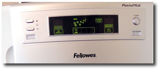 fellowes ap300ph led panel