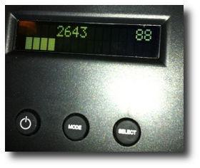 dylos dc1100 led display