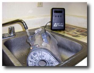 dylos dc1100 monitors vac wash