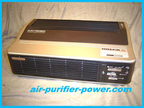 oreck xl professional air purifier signature series manual