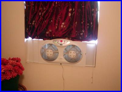 window fan filter and fan