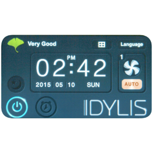 Idylis 300 Control Panel Image