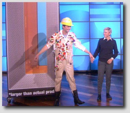 airocide on Ellen Show