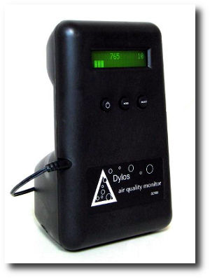 dylos dc1100 particle counter